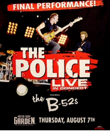 The Police FINAL CONCERT Poster Madison SQ Gard... - $60.00