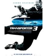 TRANSPORTER Original Movie Poster JASON STATHAM... - $60.00