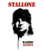 RAMBO 4 Movie Poster SYLVESTER STALLONE 4' x 6'... - $60.00