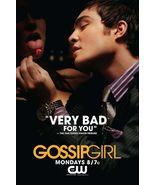 Ziegesar's GOSSIP GIRL Poster CHUCK BASS  2' x ... - $36.00