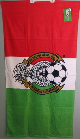 Mexico Flag MLS Licensed Beach towel