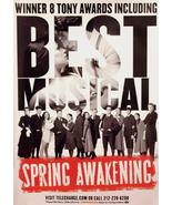 SPRING AWAKENING Theater Poster * CAST * 3' x 4... - $60.00