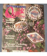 Cross Stitch Quick & Easy June/July 1990 - $3.75