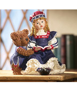 Hand Painted Teddy Bear Statue  New - $14.95
