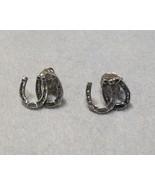 Horseshoe Earrings by Kabana Equestrian Collect... - $19.00