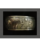 HAUNTED ELEPHANT LUCK BANGLE CHARM TALISMAN WORLD WEALTH OLD KNOWLEDGE SPELL  - $36.75