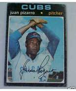 1971 Topps Juan Pizzarro Chicago Cubs P Basebal... - $1.87