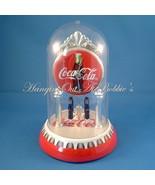 Coca Cola Clock Revolving Bottle Pendulum Dome ... - $29.99