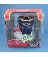 Coca Cola Blown Glass Christmas Ornament Drink ... - $12.99