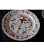 Katherine Babonovsky White Christmas dinner pla... - $17.99