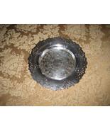 Vintage Silver-plate circular dish, Wm A Rogers... - $13.01