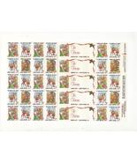 1988 Christmas Seal Sheet, Mint Condition, Amer... - $3.25