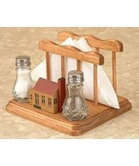Napkin Holder with Salt and Pepper Shakers - $20.95
