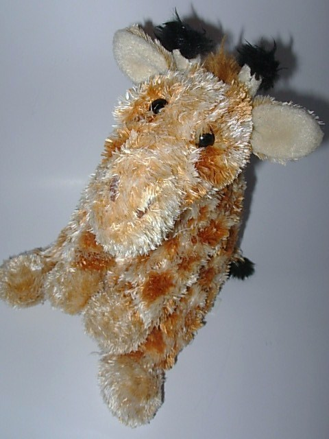 K & M Wild Republic Fuzzy Fellas Plush Giraffe Stuffed Anima