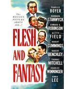 Flesh And Fantasy 1943 DVD Rare Edward G. Robinson - $8.00