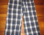 Buy Sleepwear - Men's Navy Plaid Pajama Pants!! So comfortable! Sz M
