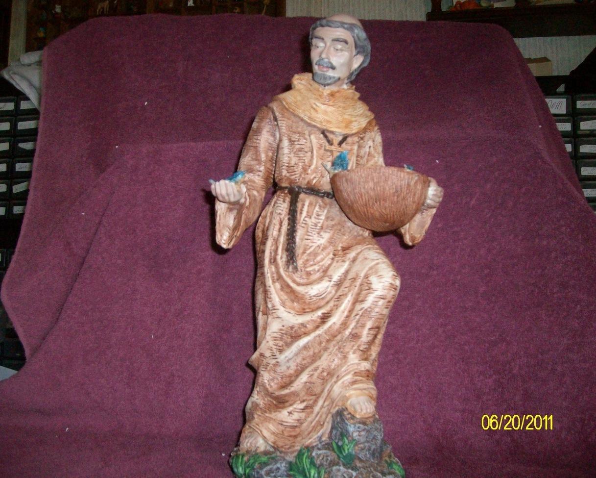St. Francis Bird Feeder Statue