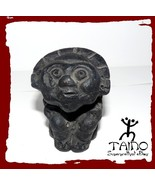 TAINO INDIAN GOD OF THE SUN CERAMIC FIRE HOME SCULPTURE - $10.95