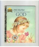 My Little Golden Book About God, 1975 # 98246-01 - $1.75
