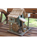 Birdhouse Water Wheel Mill Cafe - $15.00