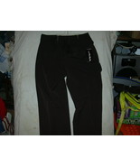 JARA Ladies Dress Slacks USA Made Dark Brown Sz 12 Tall  NWT - $14.99