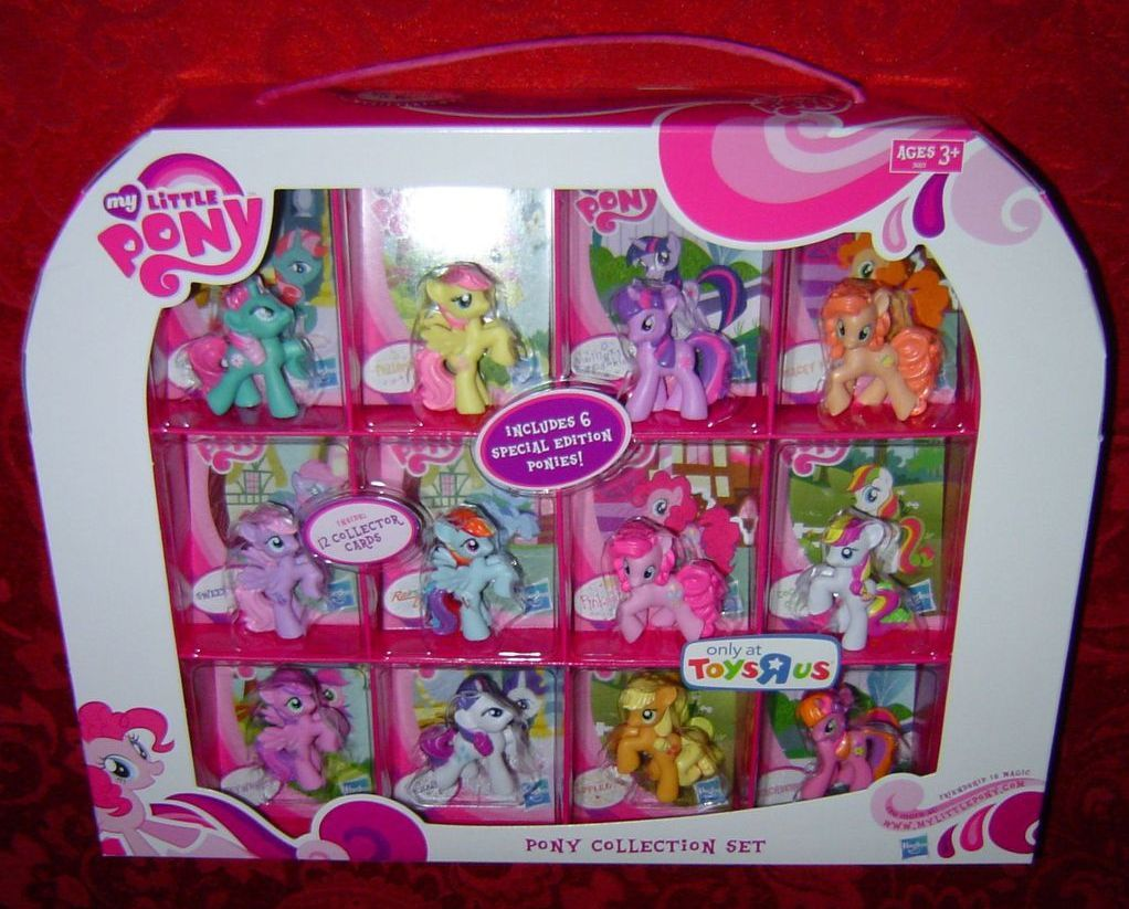 My Little Pony Pony Collection Set Toys R Us Fim Mlp G4