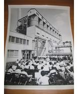 1959 Conesville Power Plant AEP Flag Raising Ph... - $9.99