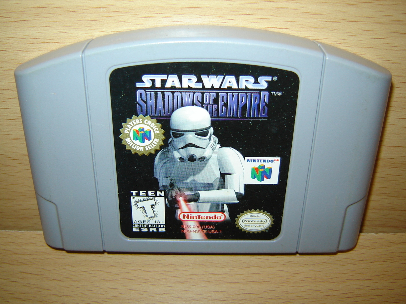 Star Wars SHADOWS OF THE EMPIRE Nintendo 64 N64 Game