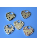 Padlock Heart with Front and Back Engrave - Pet... - $18.95