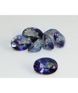 7x5 Oval Natural Tanzanite Blue Mystic Topaz .8... - $2.20
