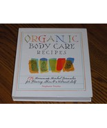Organic Body Care Recipes - $14.97