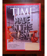 TIME Made in the USA Manufacturing Jobs Too Old... - $4.00