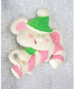 Avon Plastic Christmas Mouse Candy Cane Brooch ... - $9.95