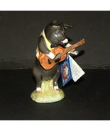 Figurine Pig Christopher Guitar Player Beswick ... - $70.00