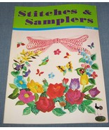 Stitches & Samplers 1974 Embroidery Needlework ... - $20.00