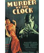 Murder By The Clock 1931 DVD William Boyd - $8.00