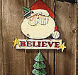 I Believe Santa Door Hanger