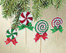Lollipop Ornaments  Felt