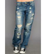 Blank Shredded Wheat Boyfriend Jeans 26 fit 25 - $19.99
