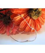 Ankle Bracelet Anklet or Large Bracelet Sterlin... - $14.99