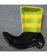Halloween Witch Shoe Boot-shaped Halloween Cera... - $3.99
