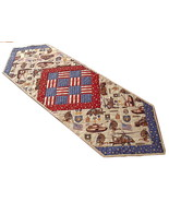 US Army Table Runner, handmade, USA American Gu... - $68.00