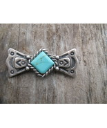 Carolyn Pollack Sterling Silver Turquoise Bar B... - $26.00