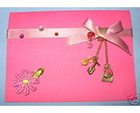 Buy All Occasion Pink 6 blank note cards shoe purse charm B