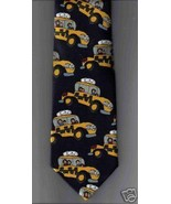 Beans Mcgee Happy Days Taxi Neck Tie blue novel... - $14.77