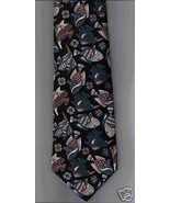 Hunting Horn silk Fish novelty Neck Tie humor f... - $15.77