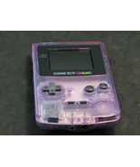 Atomic Purple Game Boy Color System Nintendo GBC