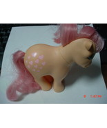 Peachy My Little Pony Pink Heart Mane Tail 1982... - $15.00