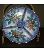 Tidbit Dish Ceramic Multicolor Floral Holland G... - $20.00