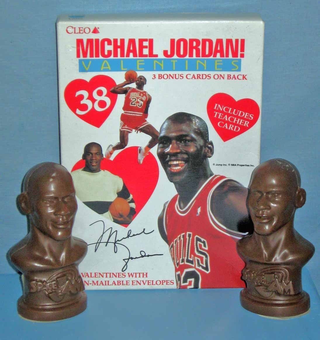 Michael Jordan Valentines - New in Package